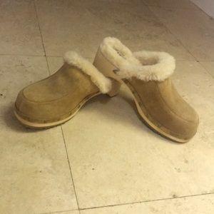 UGG Australia fur lined clogs